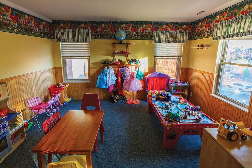 dana brown out little haven activity room